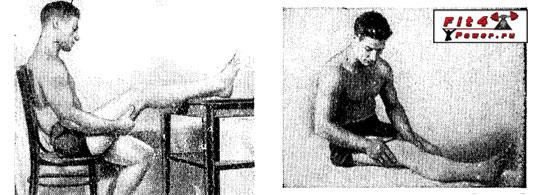 Самомассаж мышц бедра