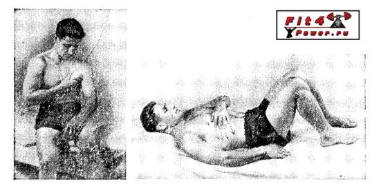Самомассаж груди, живота и спины