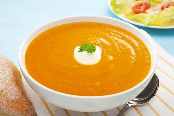 Тыквенный суп при гастрите