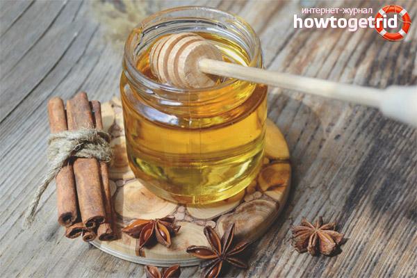Сочетание меда и корицы