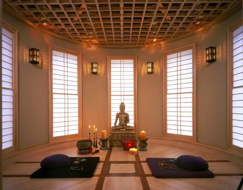 Организованное место для медитации
