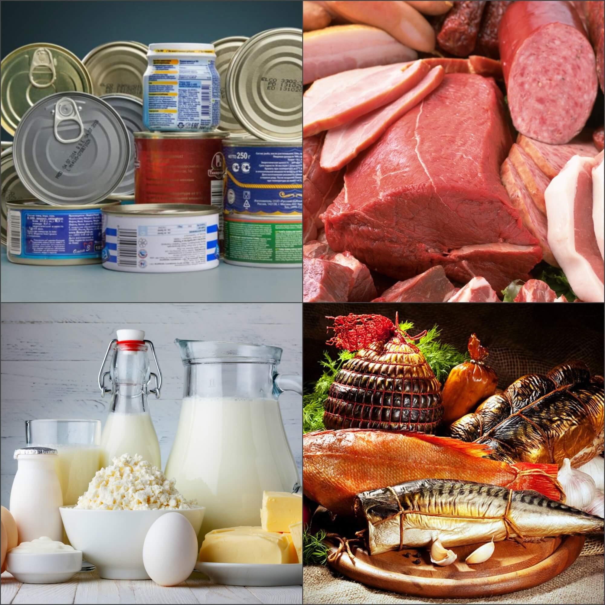 Запрещенные продукты при фруктово-овощной диете