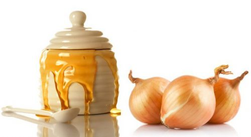 мёд и лук