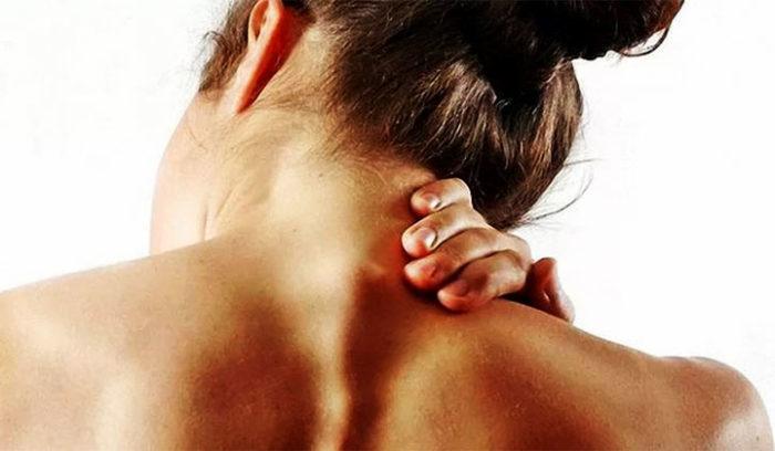 Спазм мышц шейно-воротниковой зоны