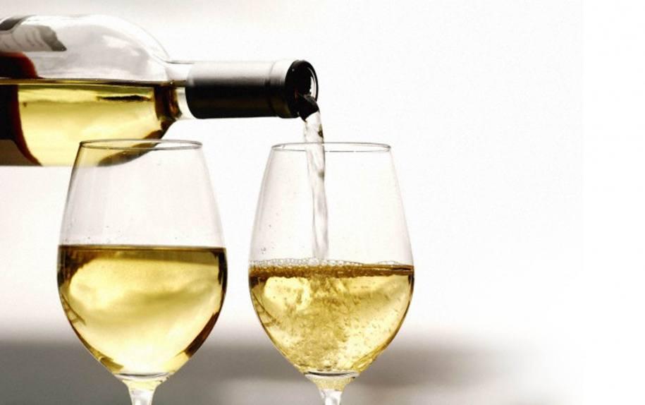 Польза белого сухого вина