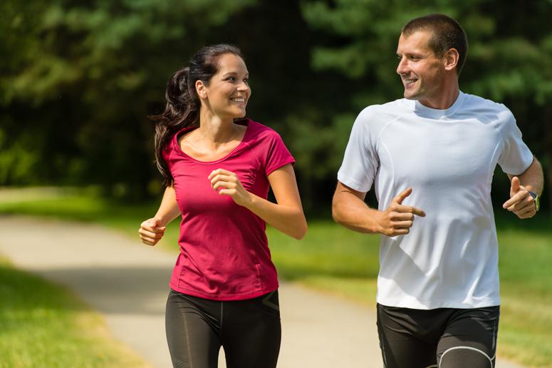 пробежка, спорт на природе, зож