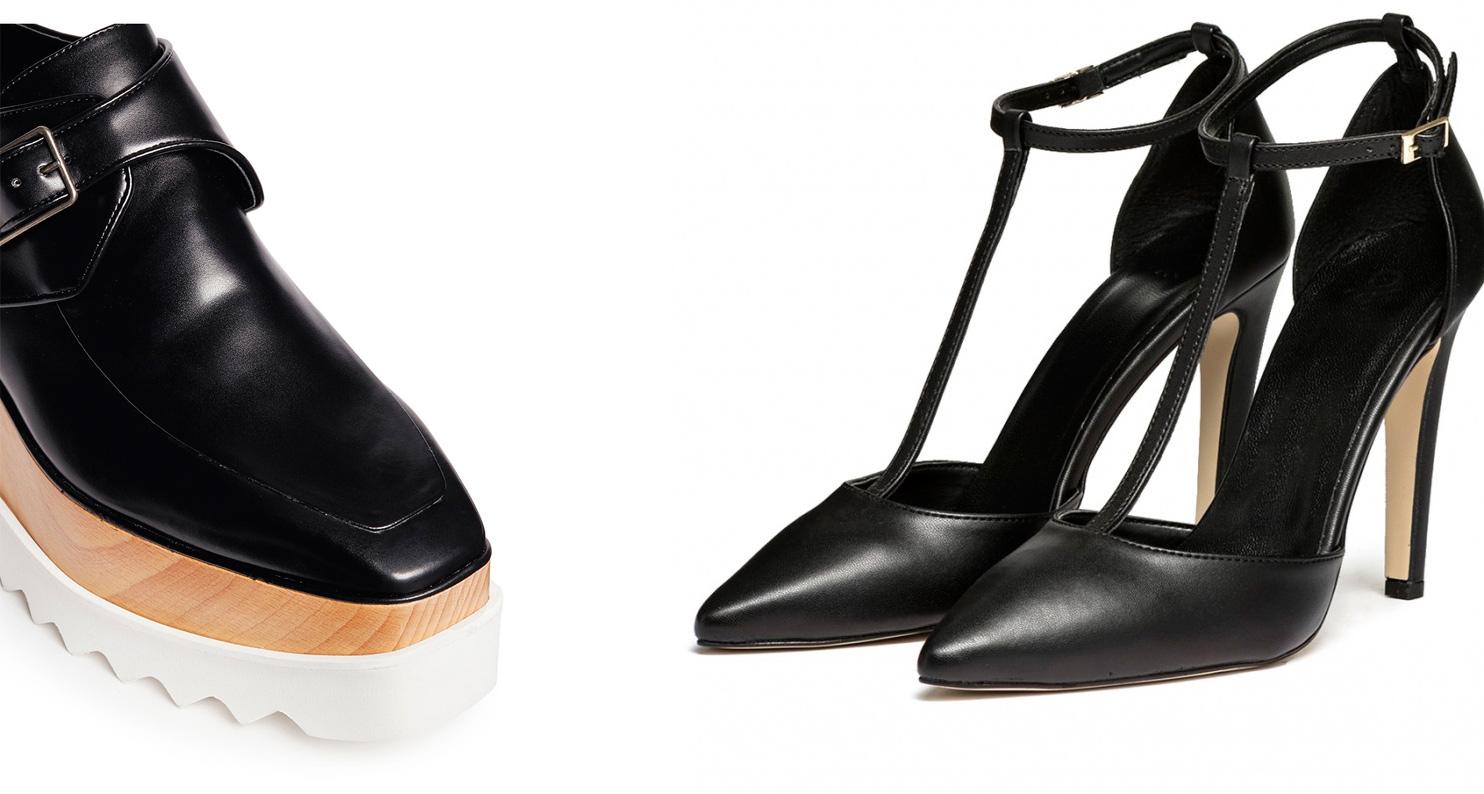 туфли из эко-кожи